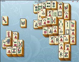 Chinesisches Spiel Mahjong