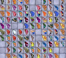 Mahjong Schmetterling 123
