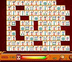 Schmetterling Mahjong 123